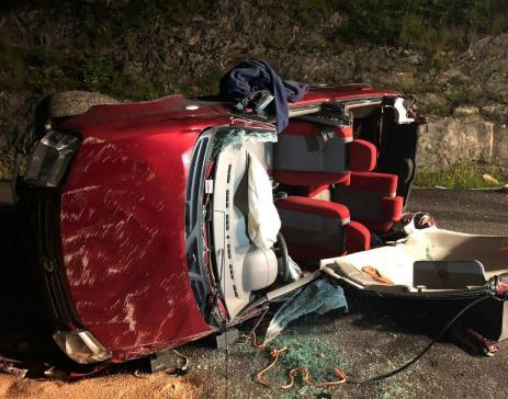 Une personne blessée dans un accident de circulation à Les Sciernes-d'Albeuve