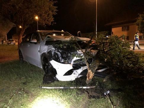 Deux blessés dans un accident de circulation à Vuadens / News nur auf Französisch