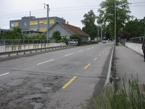 Début des travaux de réaménagement de la route de la Fonderie, à Fribourg