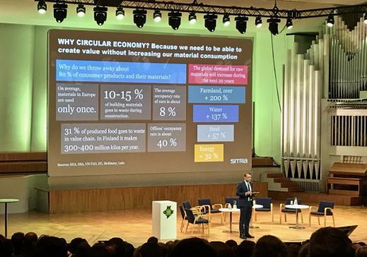 Une délégation fribourgeoise au 3ème Forum de l'Economie circulaire d'Helsinki