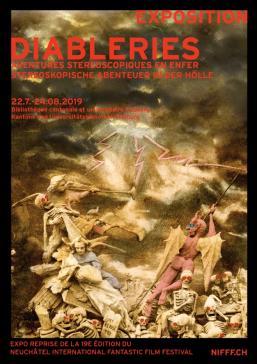 Ausstellung Diableries – Stereoskopische Abenteuer in der Hölle