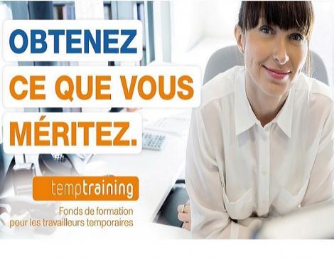 temptraining - Le fonds de formation pour les travailleurs temporaires
