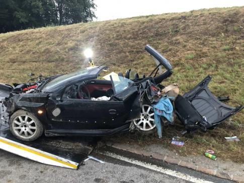 Sans permis, un mineur fait un accident au volant de la voiture de son père