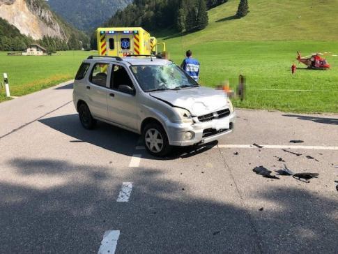 Trois blessés dans une collision à Im Fang / News nur auf Französisch