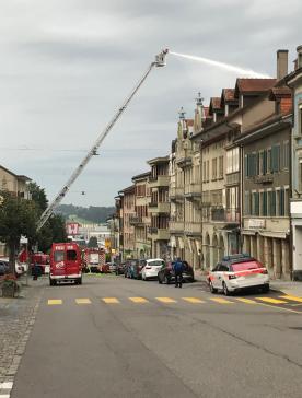 Une personne décède dans un incendie à Romont