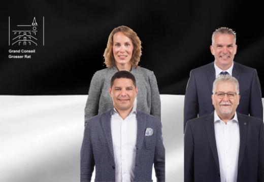 Der Grosse Rat nimmt vier neue Mitglieder auf