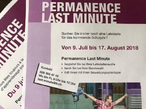 Last Minute: Das Angebot für Jugendliche auf Lehrstellensuche startet heute