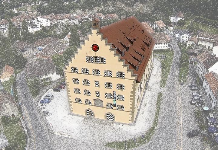 die alten Kaserne an der Oberen Matte