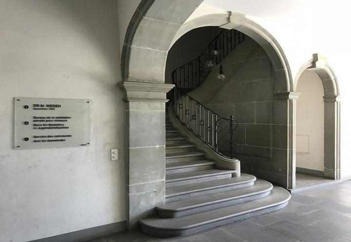 Escaliers du Service des communes