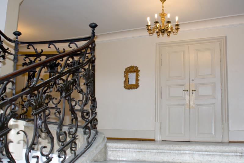 Escaliers de la Chancellerie d'Etat  - Treppenhaus Staatskanzlei