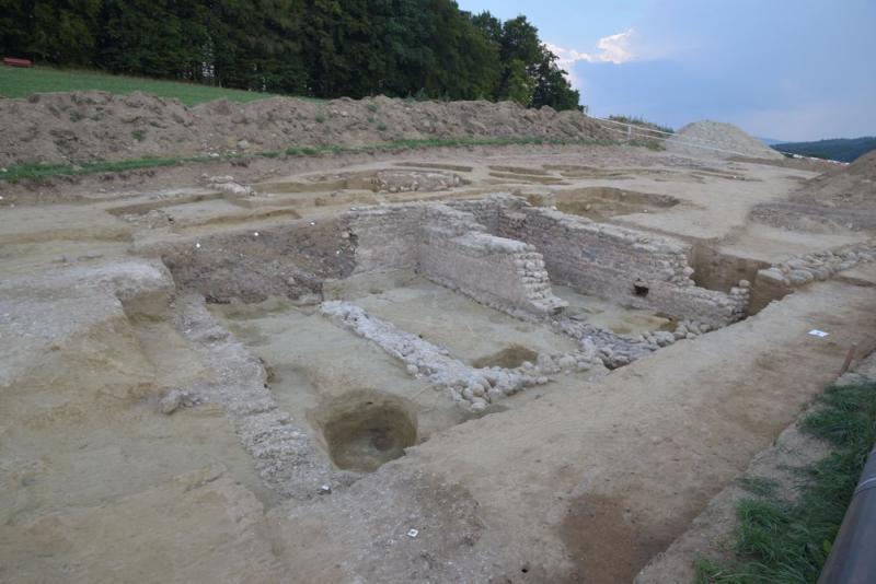 Courtepin, römische Gebäude