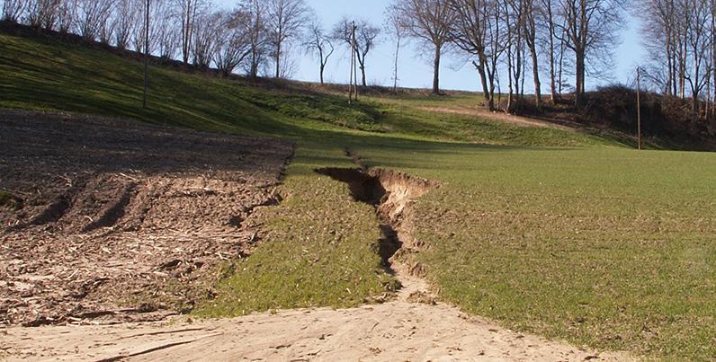 Erosion du sol