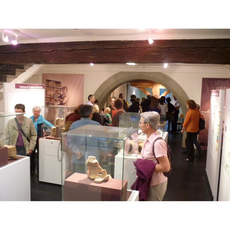 Visite guidée du Service archéologique