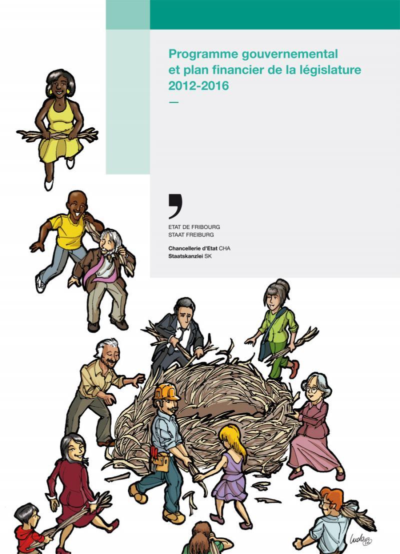 Programme gouvernemental et plan financier de la législature 2012-2016