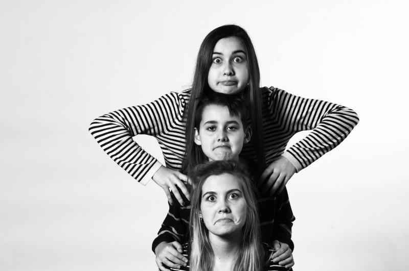 trois jeunes