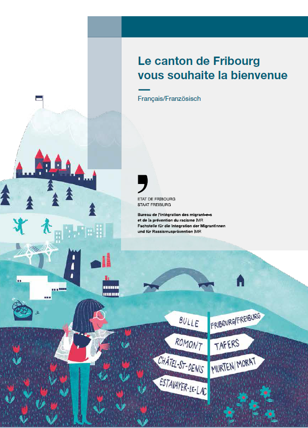 Brochure de bienvenue dans le canton de Fribourg