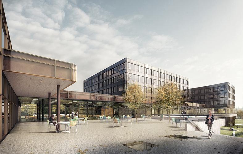 Renovierung und Erweiterung des Kollegiums Heilig Kreuz in Freiburg