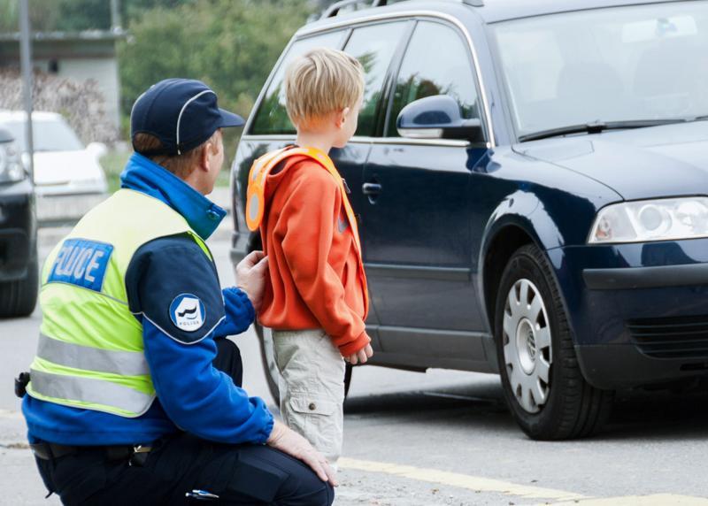 Police cantonale Fribourg - prévention routière pour enfants