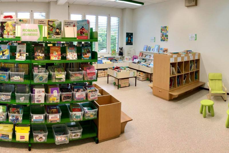 Schul- und Gemeindebibliotheken des Kantons, Bibliothèque régionale de Belfaux