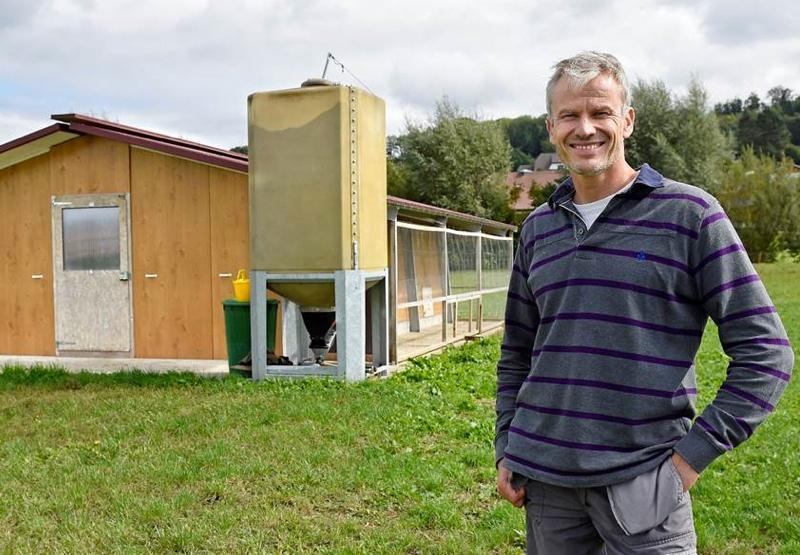 Prix innovation agricole, le vainqueur 2016  Laurent Godel