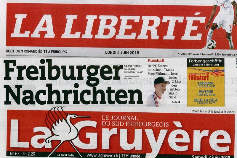 Sammlung der Freiburger Zeitungen KUB