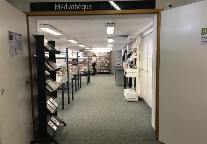 Médiathèque de la Bibliothèque cantonale et universitaire Fribourg