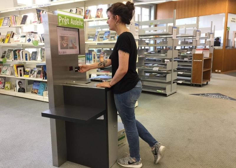 Kantons- und Universitätsbibliothek Freiburg, Ausleihe