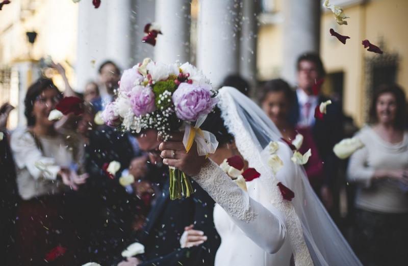 PLuie de riez sur les mariées - Reisregen auf dem Jungvermählten