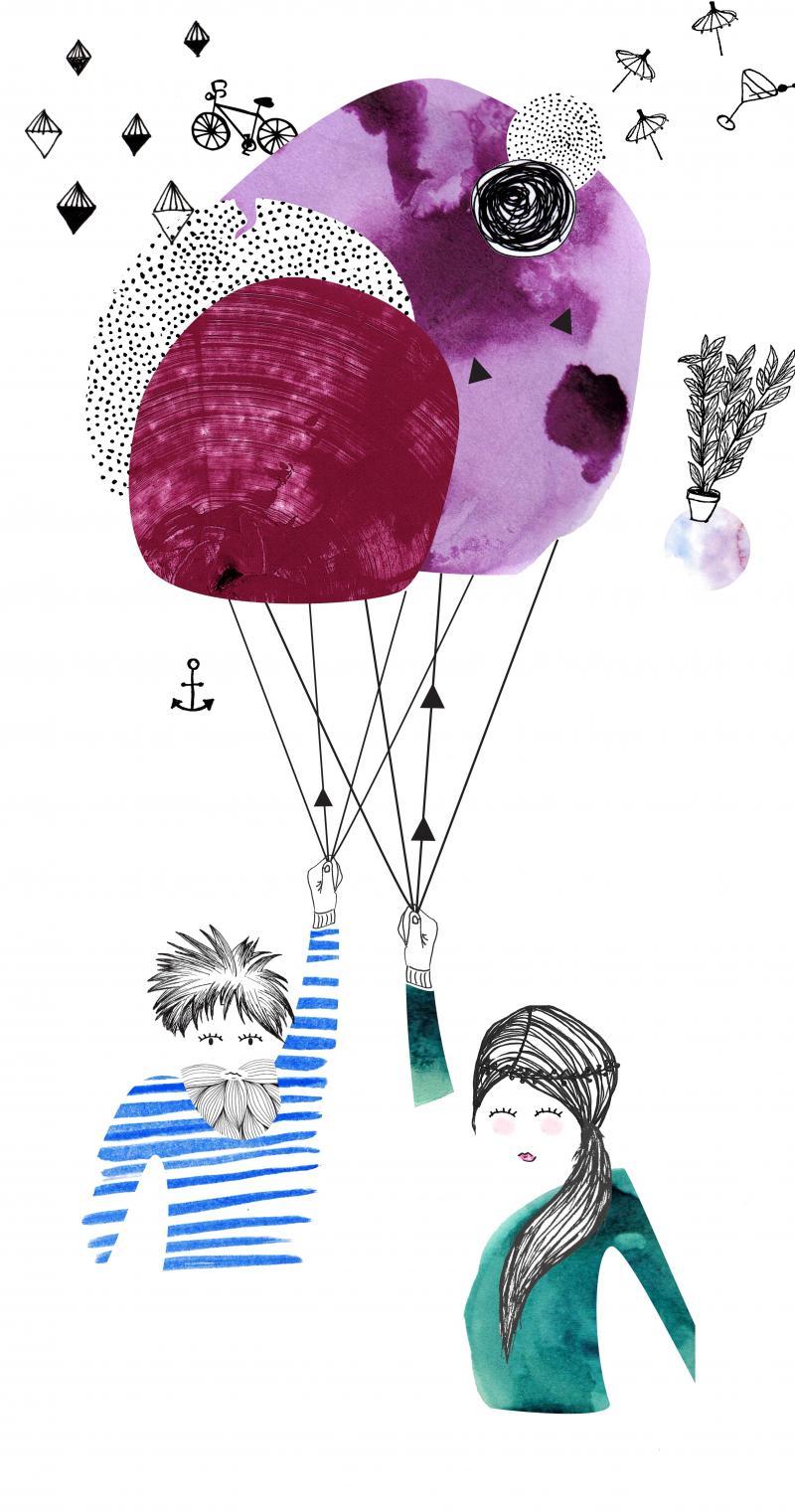 Illustration Paar