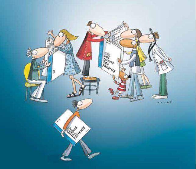 """Photo Brochure """"Les droits des patients"""""""