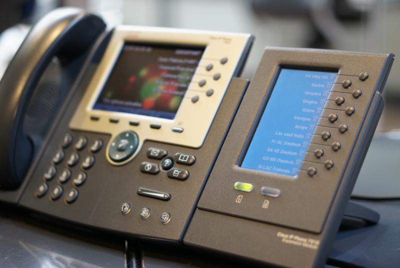 Die Telefonzentrale