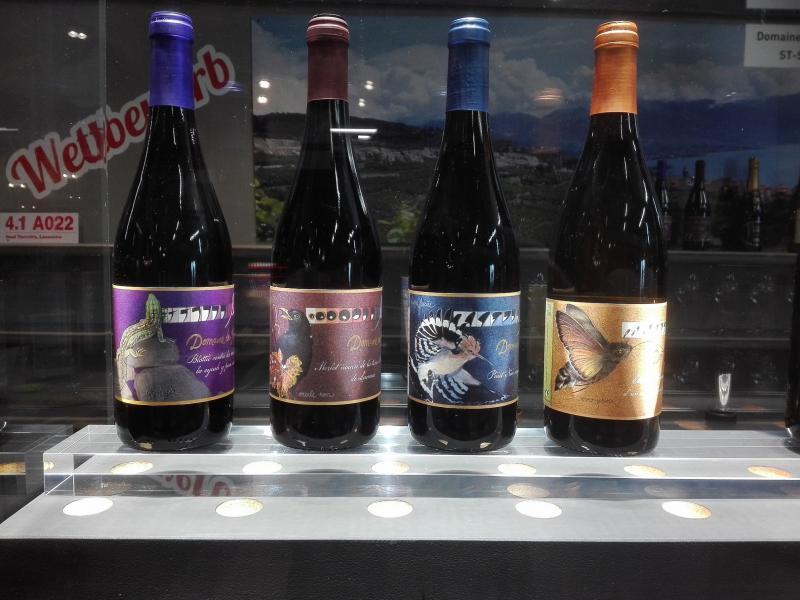 Gamme de vins Innovation du Domaine des Faverges