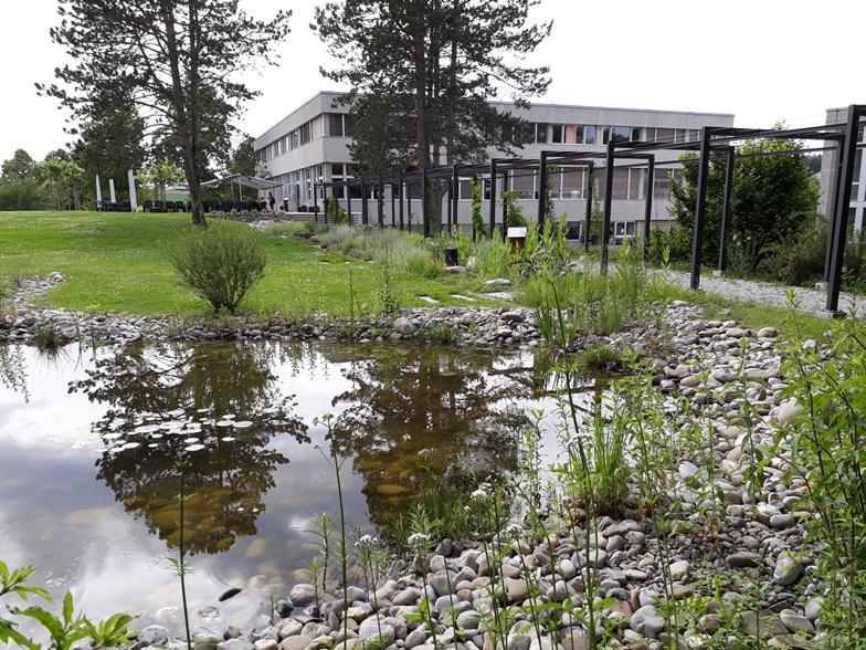 Jardin, construits par des paysagistes