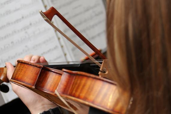 Orchestre des élèves à Bulle