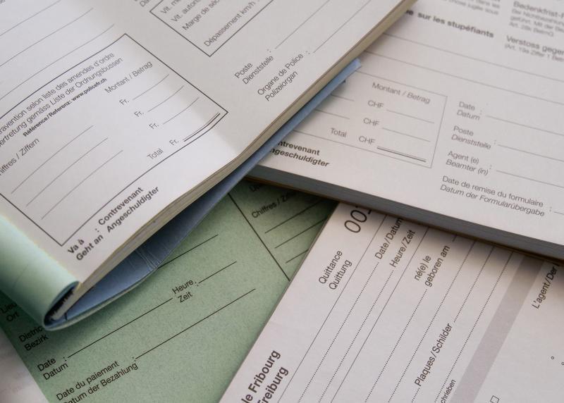 Une palette élargie en matière d'amendes d'ordre