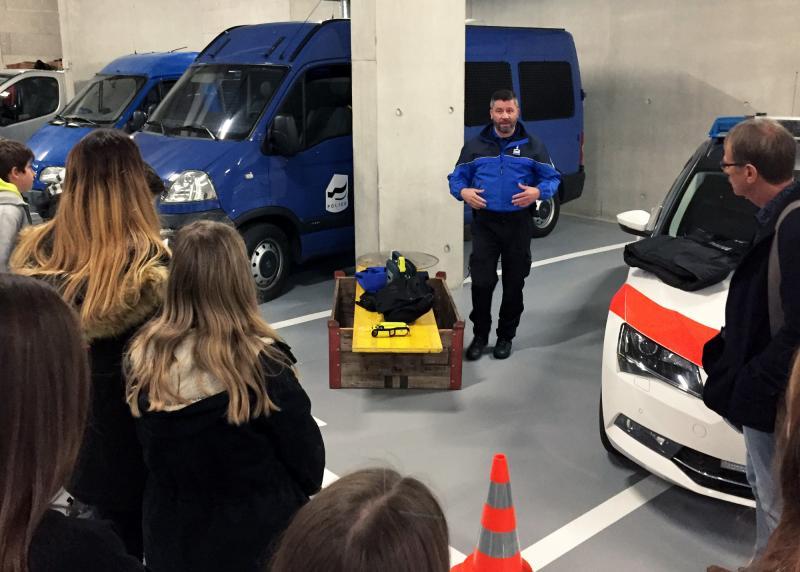 visite à la Police cantonale Fribourg