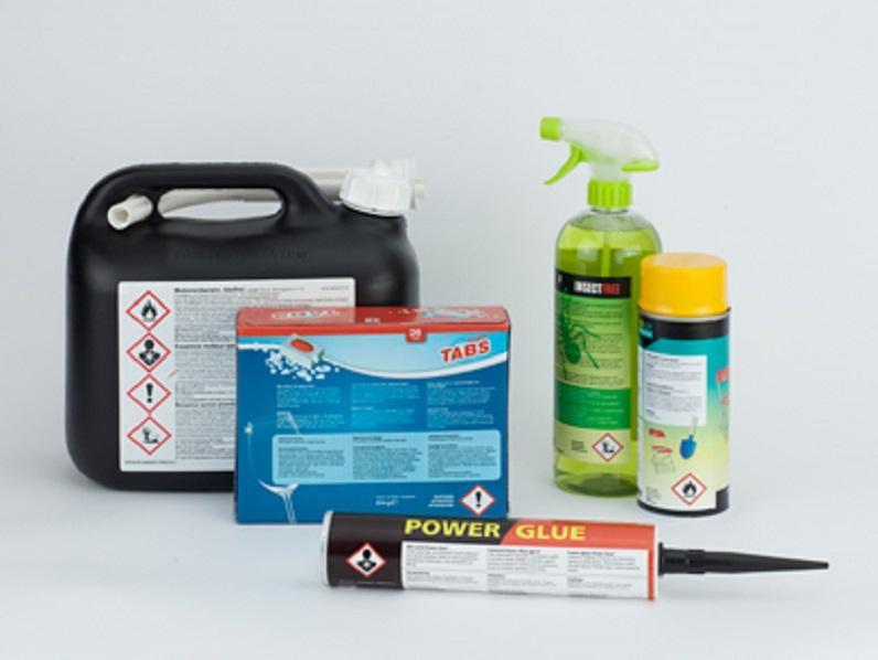 Symboles de danger pour les produits chimiques