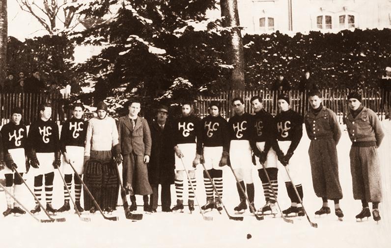 Equipe du HC Gotteron en 1940