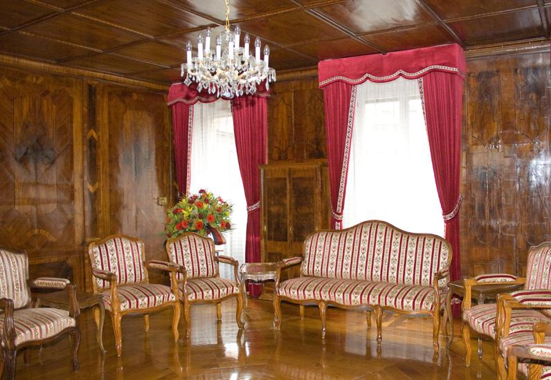 Ancienne salle de séances du Conseil d'Etat