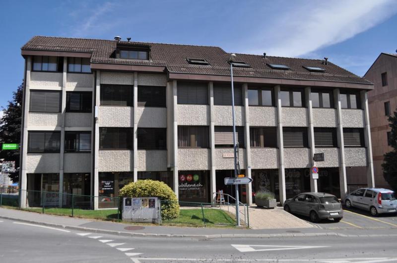 Le bureau du registre foncier de la Veveyse