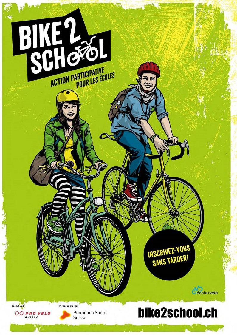 Bike2School - Le printemps est arrivé!
