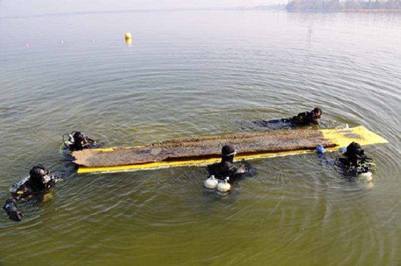 unterwasserarchäologische Ausgrabung