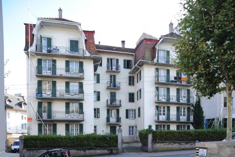 Immeubles à l'Avenue de Beauregard à Fribourg