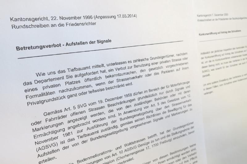 Richtlinien des Kantonsgerichts