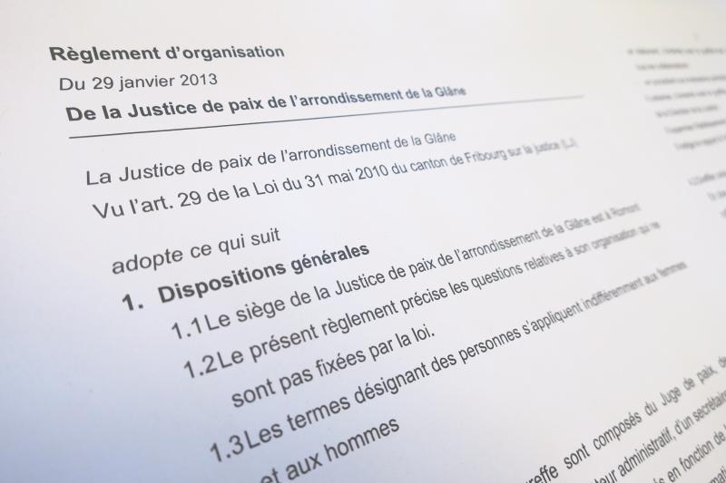 Règlements du Pouvoir judiciaire