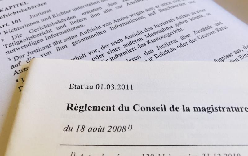 Lois et règlements CM - Gesetzestexte und Reglemente JR