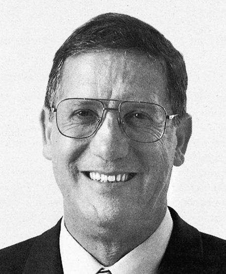 Michel Pittet, ancien Conseiller d'Etat/alt Staatsrat, (1991-2006)