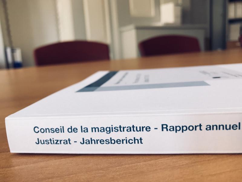 Rapport annuel du Conseil de la magistrature - Jahresbericht des Justizrates
