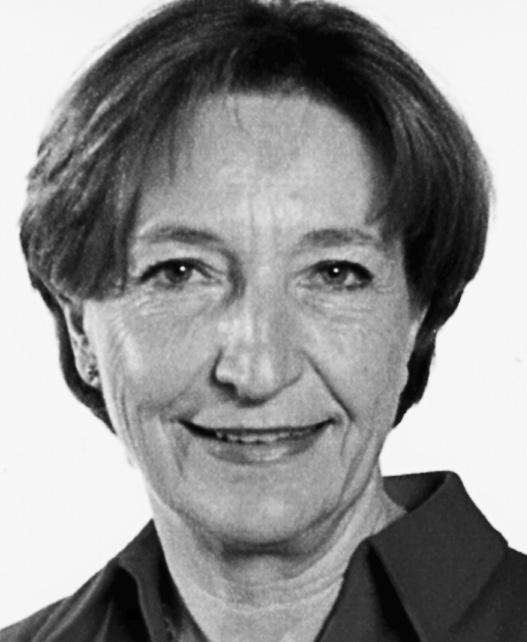 Ruth Lüthi, ancienne Conseillère d'Etat/alte Staatsrätin, (1947)