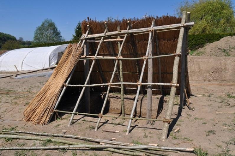 Village rural du Moyen-Age à Prez-vers-Siviriez